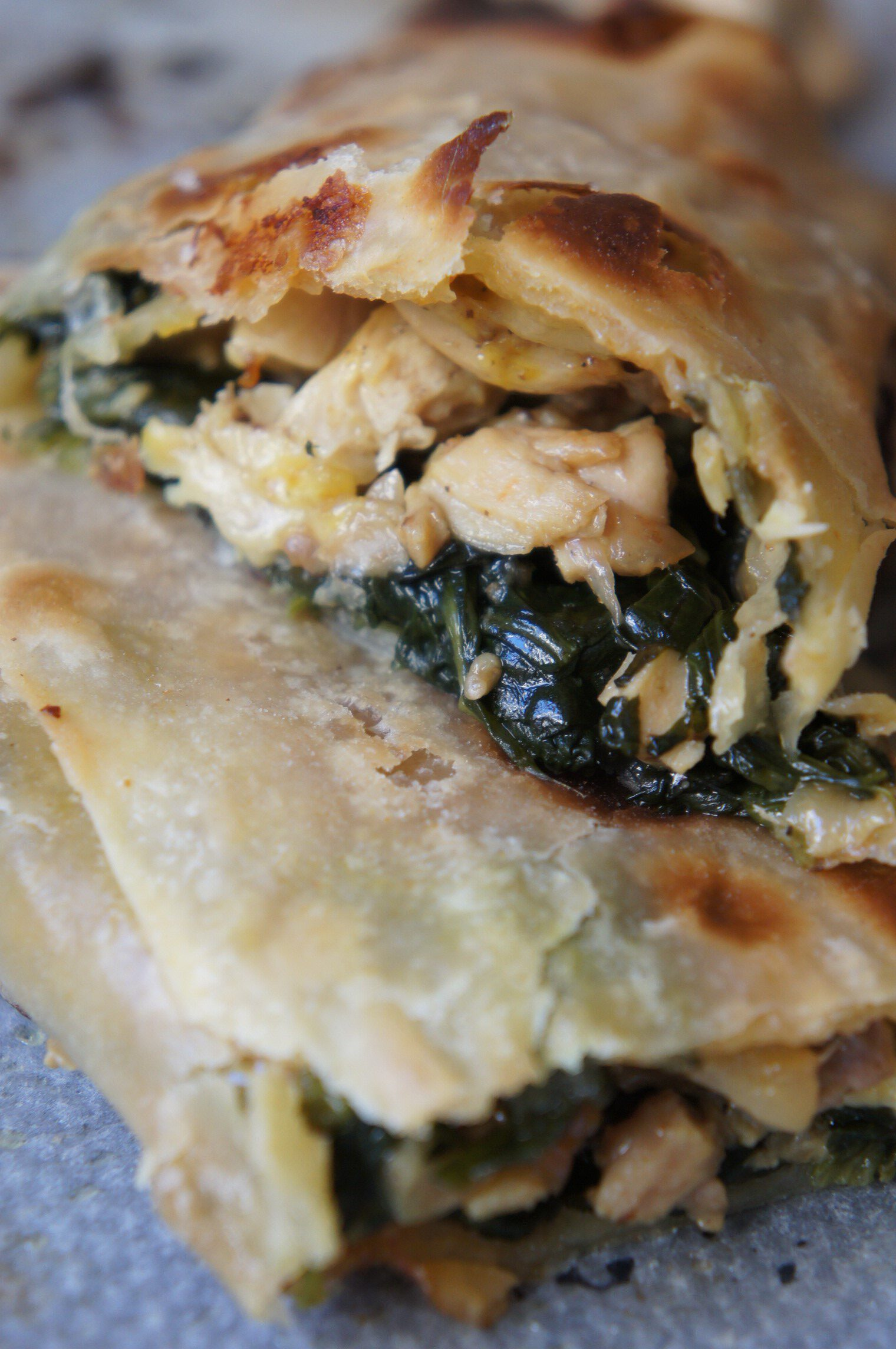 Spinach empanada recipe